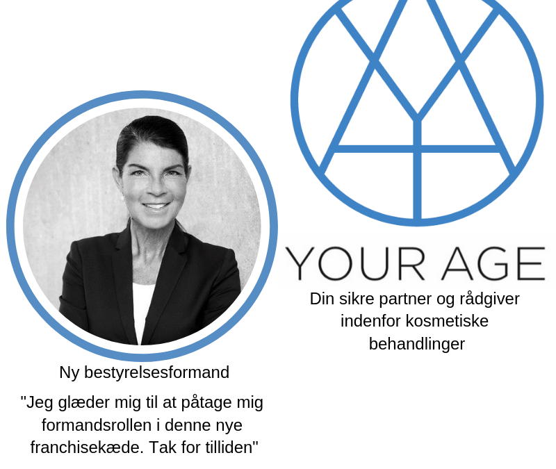Ny formandspost i franchisekæden: YOUR AGE